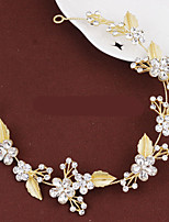Celada Bandas de cabeza / Coronas Boda / Ocasión especial Cristal / Aleación Mujer Boda / Ocasión especial 1 Pieza