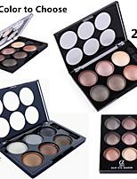 6 Palette de Fard à Paupières Sec / Lueur Fard à paupières palette Poudre NormalMaquillage de Fête / Maquillage de Fée / Maquillage Œil