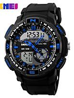 Sports Watch Men's / Ladies' / Kids' / Unisex LCD / Calendar / Chronograph / Water Resistant / Dual Time Zones / Sport Watch Digital