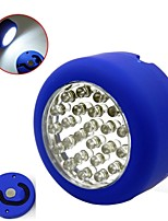 Portable 24 LED Hanging Work Inspection Light Round-shape waterproof LED light Wardrobe Light (Ramdon Color)