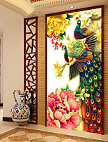 DIY 5D Full of Diamonds Embroidery Mosaic Peacock Peony rich flowers Round Painting Cross Stitch Kits Home Decoration