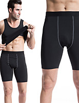 High Stretch Tight Pants Men's Legging Pant PRO Sports Running Short Pants Sexy Sweatpants Quick-drying Trousers