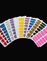 -Finger-3D Nails Nagelaufkleber / Glitzer-Andere-5Stück -14.5*7.5cm
