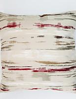 Colorful Stripe Jacquard  Cushion Cover