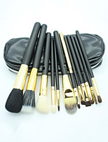 12 Makeup Brushes Set Others Full Coverage / Portable Plastic Face / Eye / Lip Others