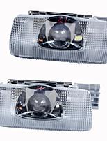 2pcs conduit porte de la voiture de bienvenue courtoisie de lumière conduit projecteur laser logo fantôme ombre légère de voiture pour
