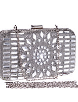 L.WEST® Women's Glass Drill Diamonds Party/Evening Bag