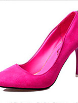 Women's Shoes PU Stiletto Heel Wedding / Outdoor / Office & Career / Party & Evening / Dress / Black / Burgundy / Coral