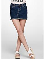 Meters/bonwe® Women's Above Knee Skirt-258806