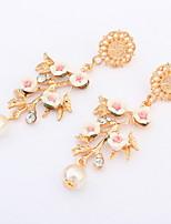 Damen / Paar / Unisex Ohrring Legierung Künstliche Perle Drop Earrings