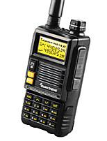 QUANSHENG TG-45UV Walkie Talkie 4-5W 2500mAh 400-470MHz / 136-174MHz 2500mAh 3KM-5KMRadio FM / Alarma de Emergencia / Programable con