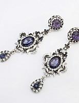 Creative Jewelry for Women Drop Earrings with Rhinestone Wedding Dangle Earrings