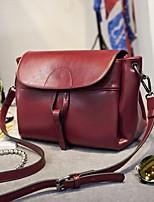 Women PU Sling Bag Shoulder Bag-Blue / Black / Burgundy