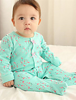 Girl's Green Overall & Jumpsuit Cotton Winter