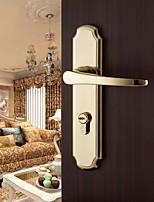 Dorlink? Contemporary Zinc Alloy Golden Keyed Entry Door Lock