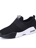 Men's Shoes Athletic / Casual Tulle Fashion Sneakers Black / Blue