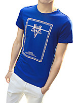 In the summer of 2016 new men's t-shirt - Korean youth clothes Youth printing T-shirt tide