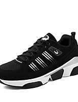 Men's Casual Shoes Running/Casual/Outdoor Tulle Leather Fashion Sneakers Runing Shoes Black/Bule/Red 38-47