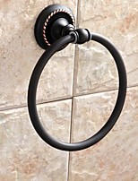 Oil Rubbed Bronze BrassTowel Ring