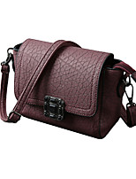 Women Crossbody Bags Soft PU Hasp Flap Solid Casual Small Mini Shoulder Messenger Bag