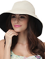 Unisex Cotton Blend Sun Hat,Vintage Facial Hydrating UV Cream/ Cute / Party / Work / Casual Spring / Summer