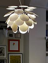 LightMyself Globe LED / Mini Style / Designers Painting Metal Pendant LightsLiving Room / Bedroom / Dining Room