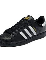 Adidas Originals Men's Shoes Outdoor / Casual Leather Fashion Sneakers Black and White