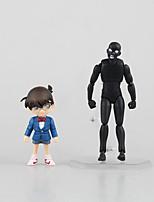 Détective Conan Conan Edogawa PVC 14.5cm Figures Anime Action Jouets modèle Doll Toy