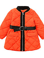 Veste & Manteau Fille de Coton Automne / Printemps Noir / Orange / Beige