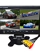 9 Inch HD Quad-TFT-LCD Car Rearview Monitor With Stand Reverse Backup Camera High Quality