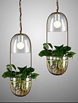 40W Traditionnel/Classique Style mini Autres Verre Lampe suspendueSalle de séjour / Chambre à coucher / Salle à manger / Bureau/Bureau de