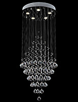 Crystal Ceiling Chandeliers Pendant Light Hanging Lamps Fixtures with D19.69
