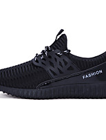Men's Shoes Running/Casual/Outdoor Tulle Leather Fashion Sneakers Runing Shoes Black/Bule/Gray 39-44