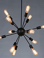 110/220V Loft Pendant Lights/12 Lights/ Industrial Light/Rustic/Lodge/Vintage/Retro/CountryLiving Room/Dining Room