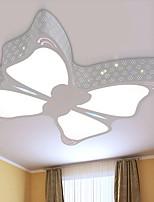 Modern LED Butterfly Ceiling Lamp Metal Flush Mount Living Room / Bedroom / Dining Room /Kids Room