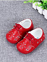 Baby Shoes-Formale / Casual-Ballerine-PU-Rosa / Rosso / Bianco