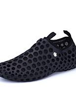 Zapatos de Hombre-Sneakers a la Moda-Exterior / Casual / Deporte-Sintético / Tul-Negro / Azul / Azul Real