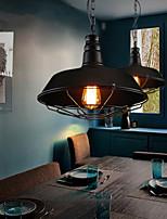 MAX 60W Cosecha Mini Estilo Pintura Metal Lámparas ColgantesSala de estar / Comedor / Habitación de estudio/Oficina / Habitación de Juego