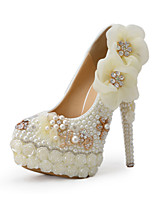 Women's Shoes Stiletto Heel Heels Heels Wedding / Party & Evening / Dress White