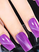 Ekbas Cat Eye Purple Matte Nail Glue 16ML Nail Polish