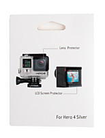 Kit With Gopro Lens Protective Film External LCD Screen Protective Film.  Free With Wiper Paper