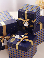 4 Piece/Set Favor Holder-Cubic Card Paper Gift Boxes Non-personalised