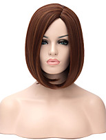 Top Quality Ms In Europe and The New Golden Brown Short Hair Synthetic Wigs