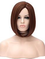 ms alta calidad en Europa y las pelucas sintéticas nuevo oro pelo corto de color marrón
