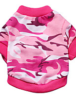 Dog T-Shirt / T-Shirt  A variety of colors / Summer  Floral / Camouflage Fashion