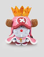 Otros Otros PVC 11.5cm Las figuras de acción del anime Juegos de construcción muñeca de juguete