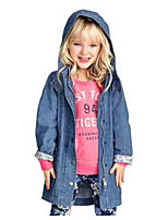 Girl's Jacket & Coat,Cotton Winter Blue