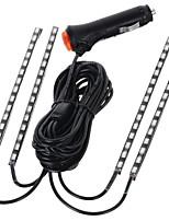 exled 10w 12v lampe de décoration de voiture diy conduit avec la lumière bleue