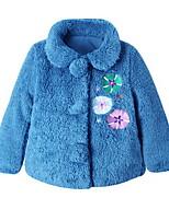 Girl's Blue Jacket & Coat Cotton Winter