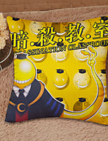 Assassination Classroom Cotton / Satin Cushion Pillowcase+Pillow Core